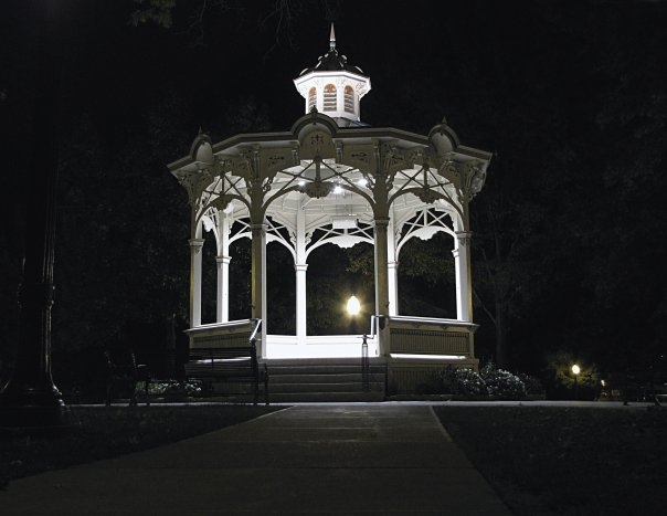 The Gazebo, Photo by Jeffery Heaton, Medina High School, Class of 1995.
