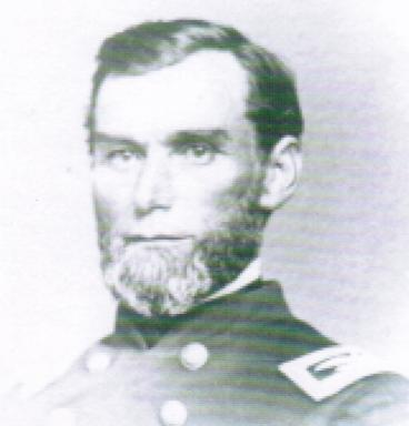 H.G. Blake in the uniform of the 166th Regiment of the Union Army