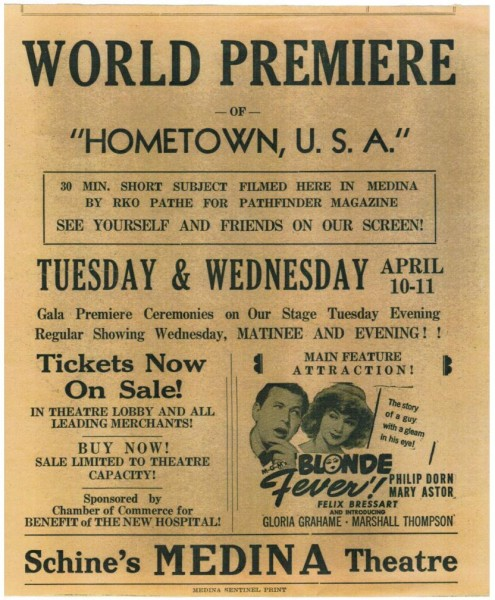 Hometown USA world premier