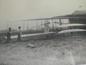 Photo of Wright Brothers at the Medina Aviation Museum