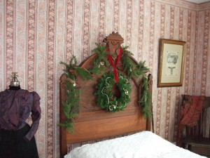 Victorians believed that greenery in the house at Christmas brought good luck and chased away the evil spirits.
